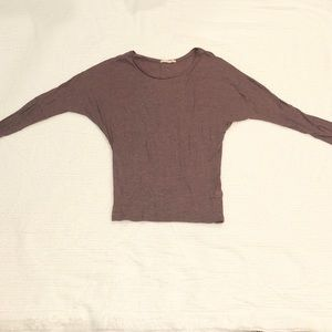 Alternative Apparel Maroon Long-Sleeve Tee